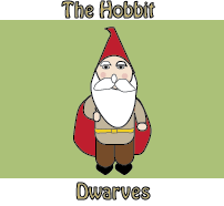 Hobbit Dwarf Worksheet