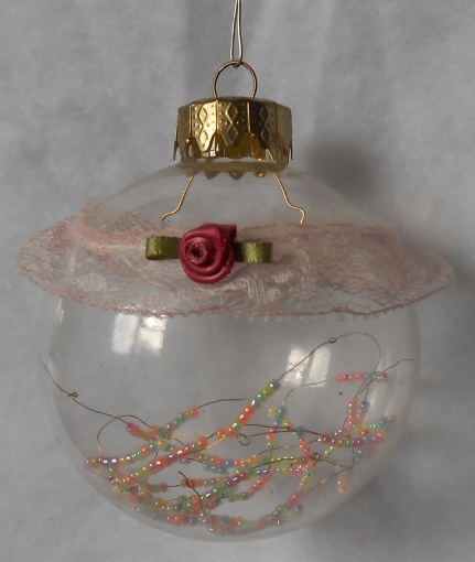Clear Ornament