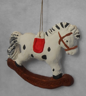 horse tree ornament