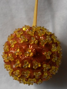Orange & Yellow Ornament