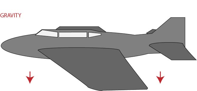 Airplane Gravity