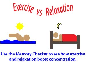 exercise worksheet