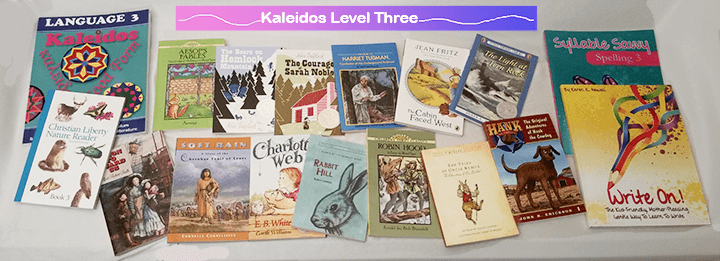 Kaleidos 3 Language Arts Curriculum