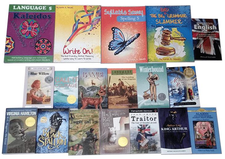 Kaleidos 5 Language Arts Curriculum