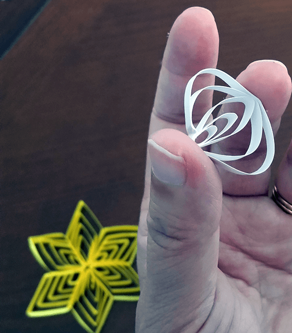 Multi-layered Quilling Star