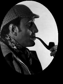 Sherlock Holmes Actor Basil Rathbone