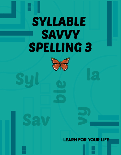 Syllable Savvy Spelling 3