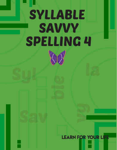 Syllable Savvy Spelling 4 Cover